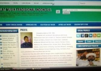 Profil kami dalam situs dan facebook.