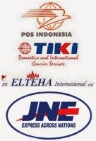 Perusahaan jasa paket barang dan dokumen.